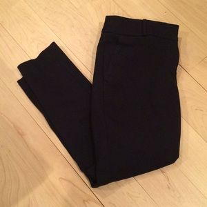 LOFT marisa fit navy ankle pants